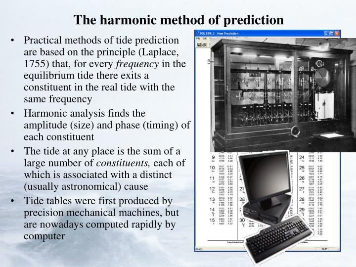 The harmonic method of prediction