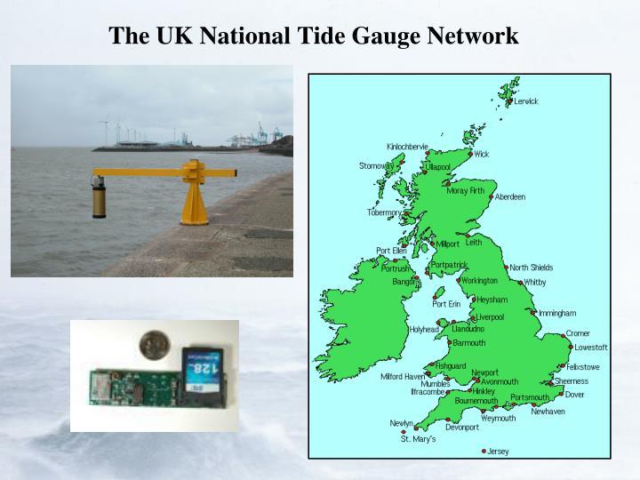 The UK National Tide Gauge Network