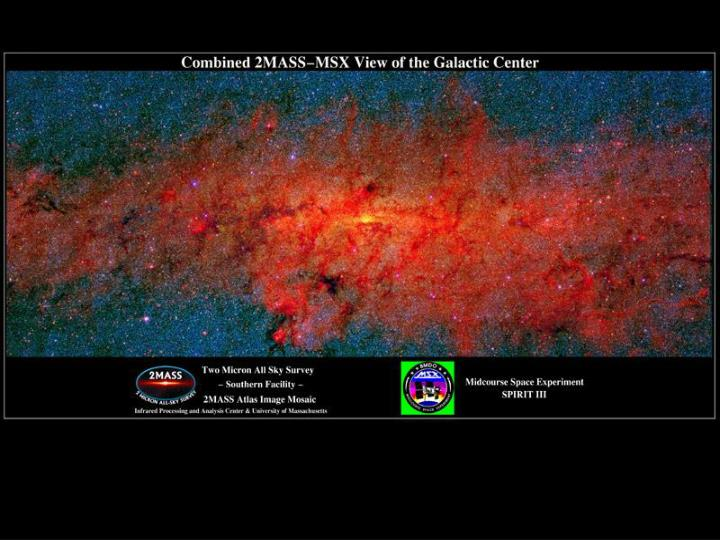 2MASS Milky Way; nucleus shows