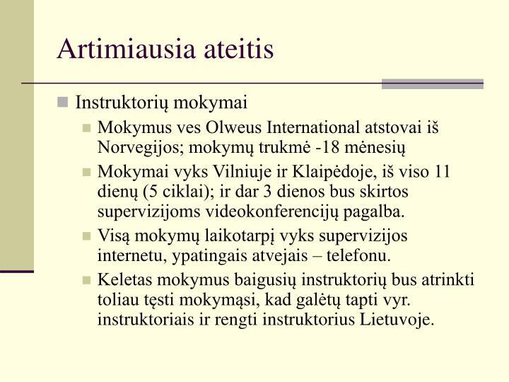 Artimiausia