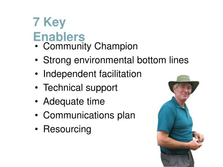 7 Key Enablers