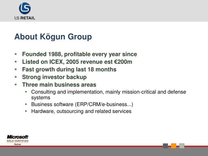 About Kögun Group