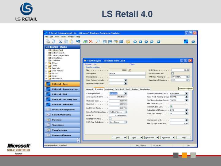 LS Retail 4.0