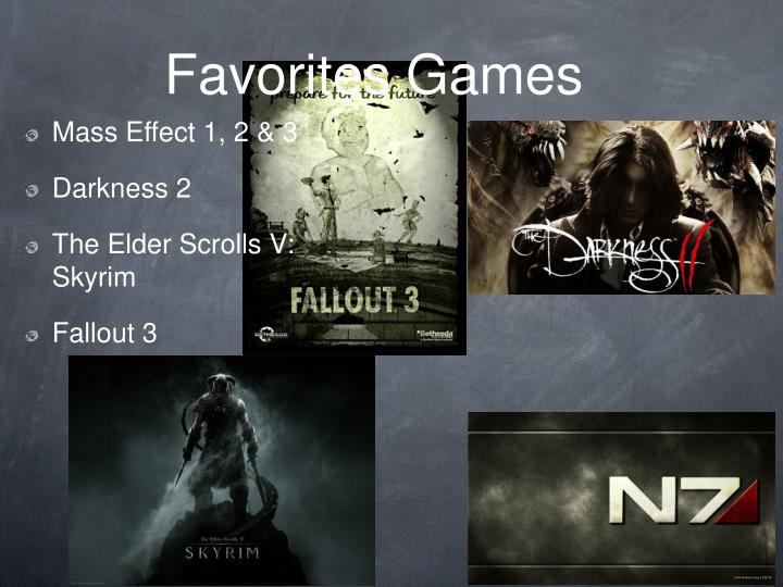 Favorites Games