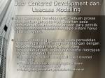 user centered development dan usecase modelling