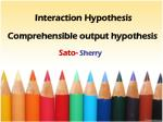 interaction hypothesis1