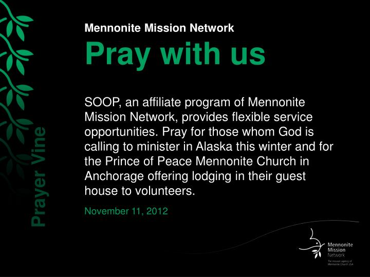 Mennonite mission network pray with us1