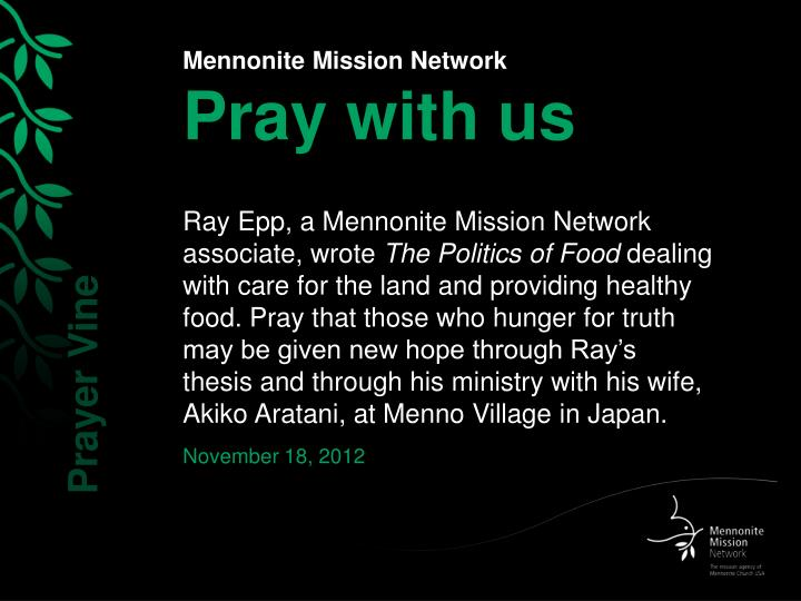 Mennonite mission network pray with us2