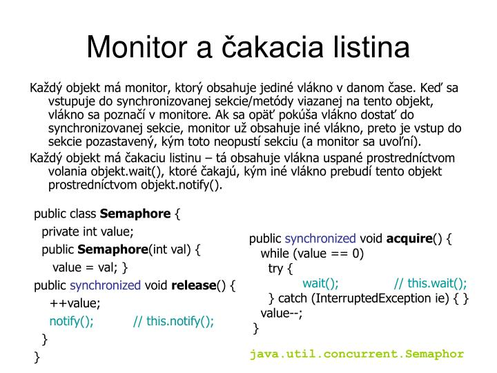 Monitor a
