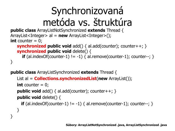 Synchronizovan