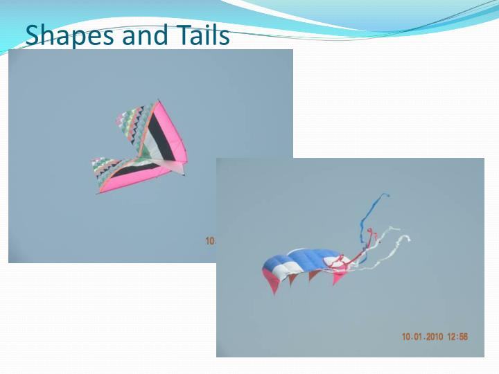 Shapes and Tails