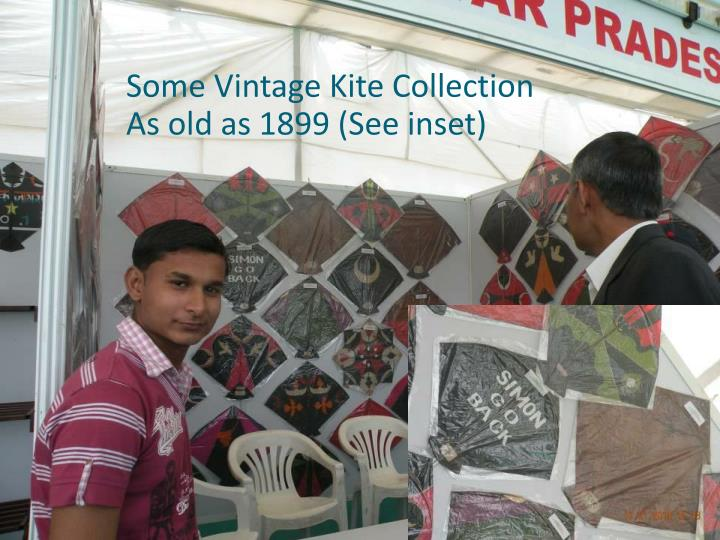 Some Vintage Kite Collection