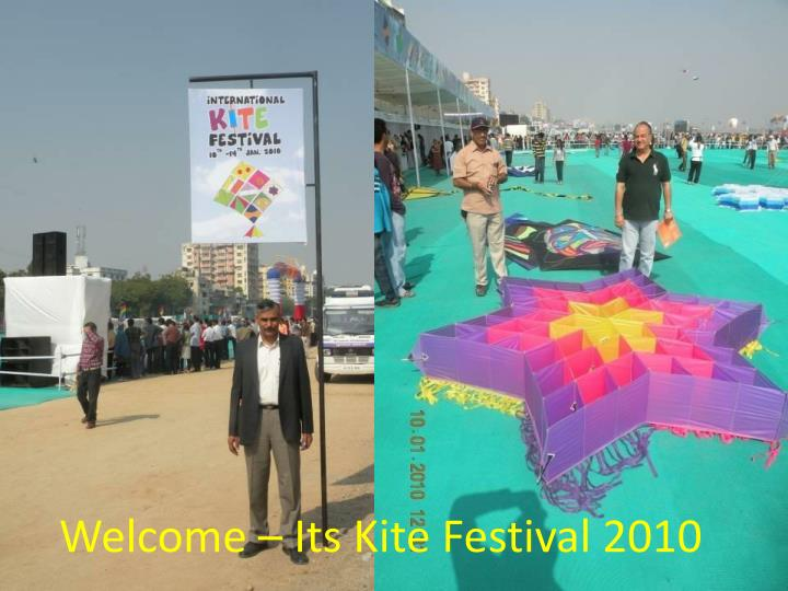 Welcome its kite festival 2010