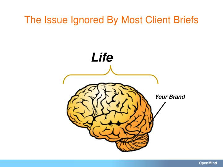 The Issue Ignored By Most Client Briefs