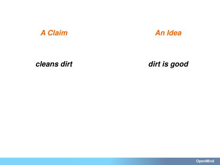 A Claim