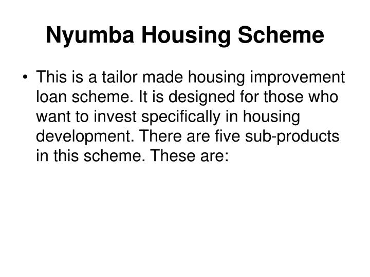 Nyumba Housing Scheme