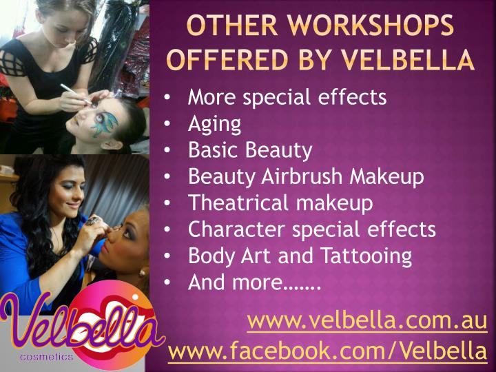 Other workshops offered by