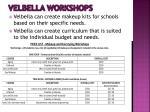 velbella workshops