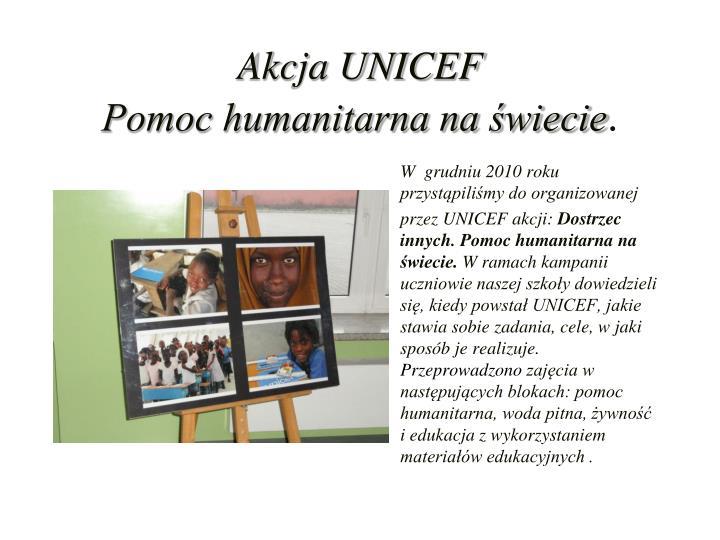 Akcja UNICEF