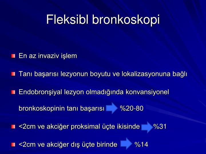 Fleksibl bronkoskopi