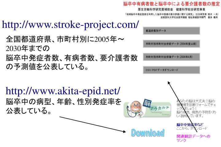 http://www.stroke-project.com/