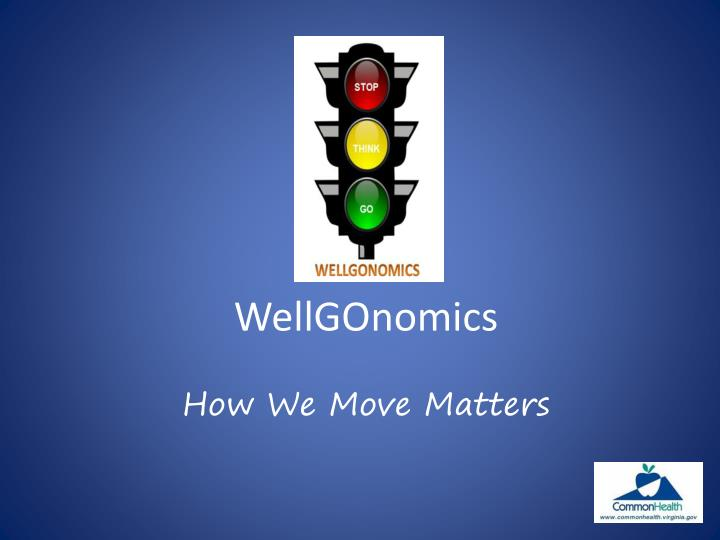 wellgonomics