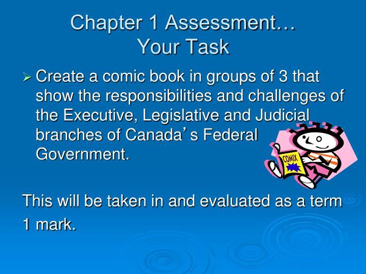Chapter 1 Assessment…