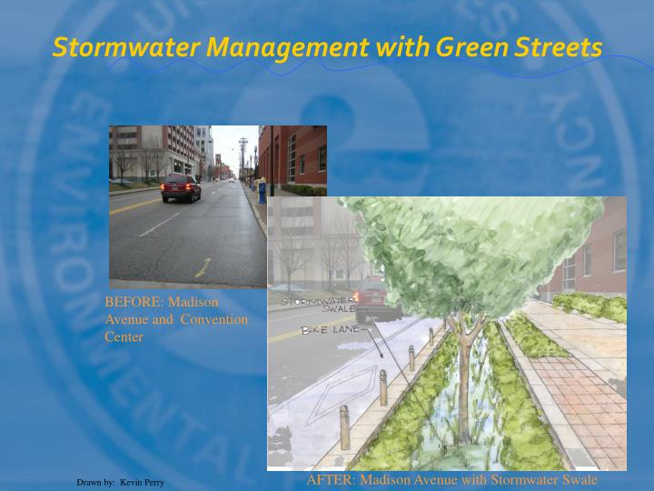 Stormwater Management with Green Streets