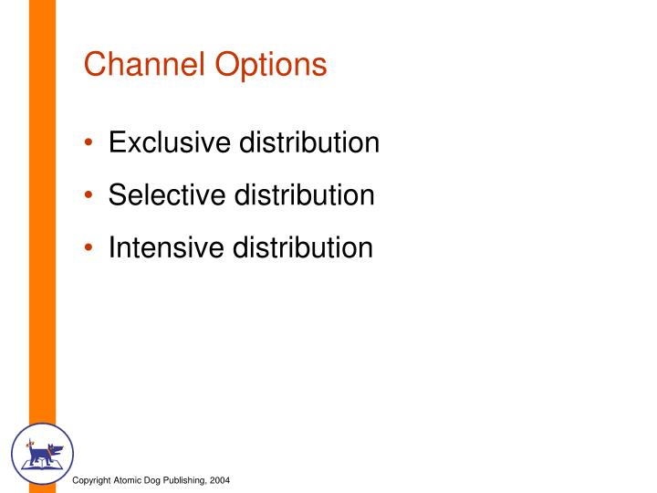 Channel Options