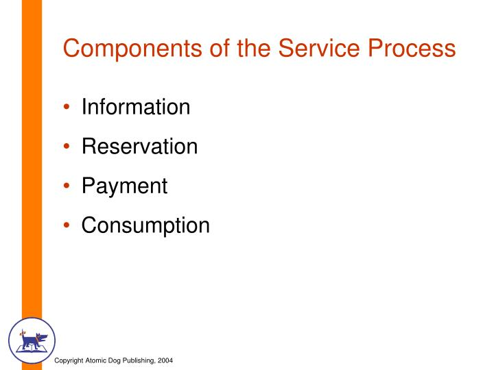 Components of the service process