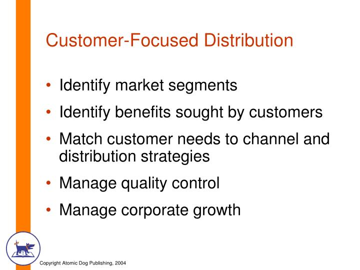 Customer-Focused Distribution