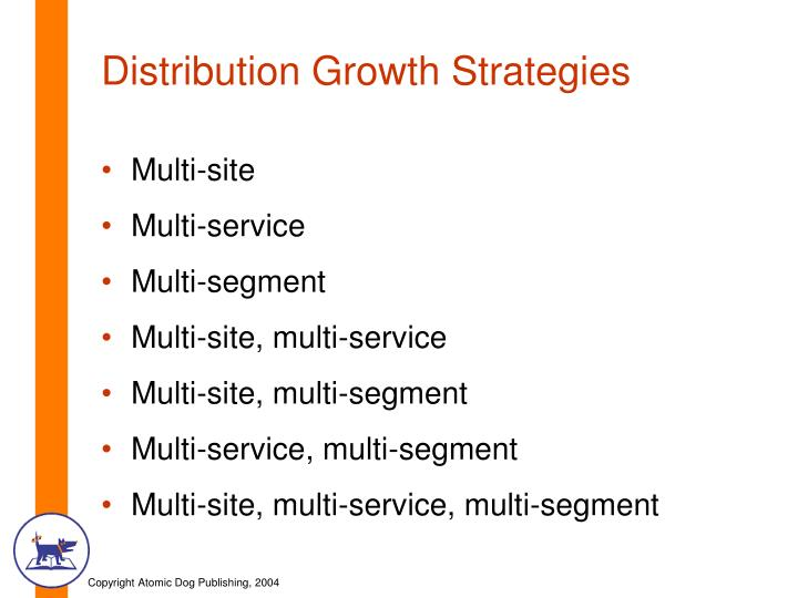 Distribution Growth Strategies