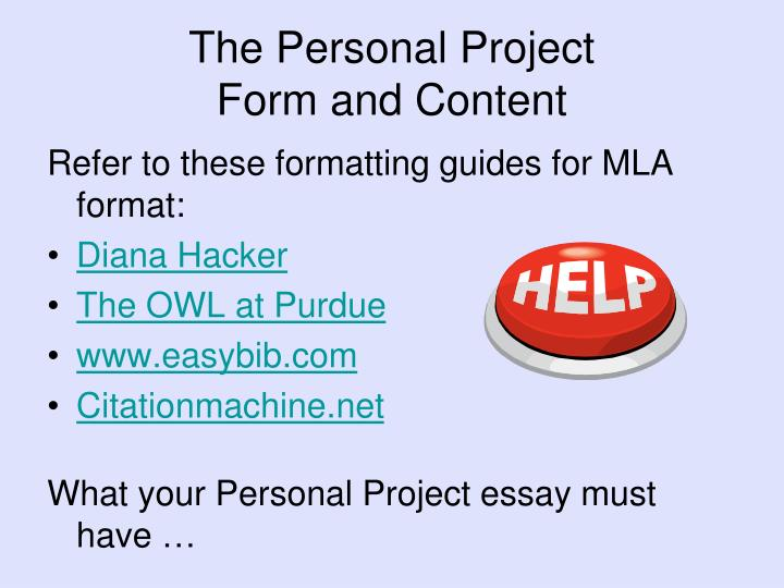 personal essay in mla format This mla format essay outline will provide you with all the key facts on formatting for an essay here you may find the tips on creating the title page, the essay.