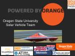 oregon state university solar vehicle team