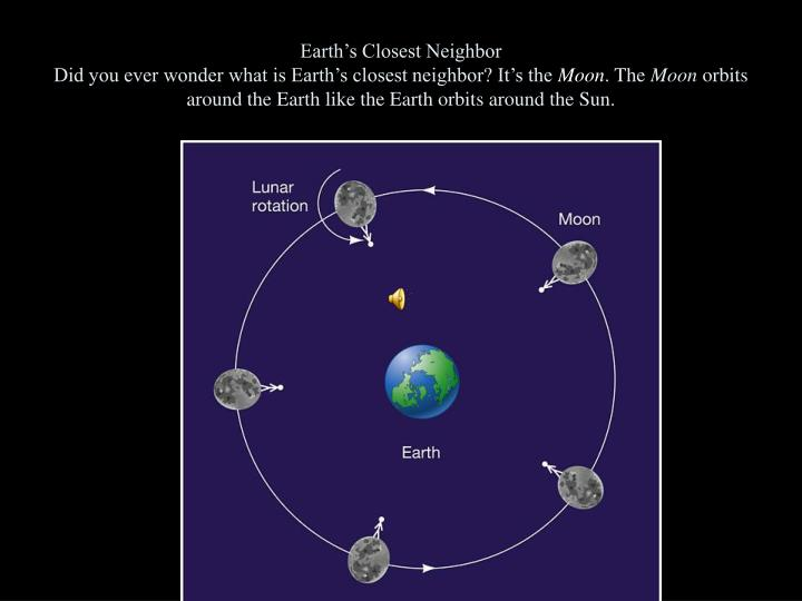 Earth's Closest Neighbor