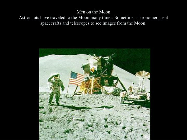 Men on the Moon
