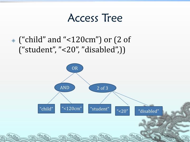 Access Tree