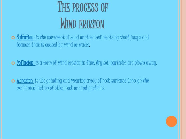 The process of