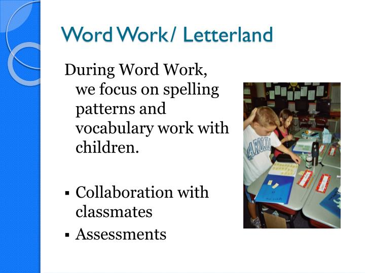 Word Work/