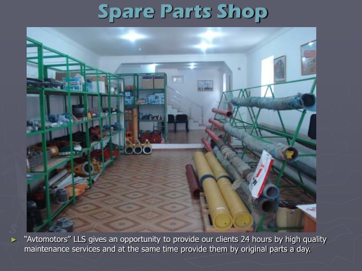 Spare Parts Shop