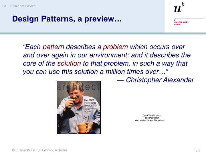 Design patterns a preview