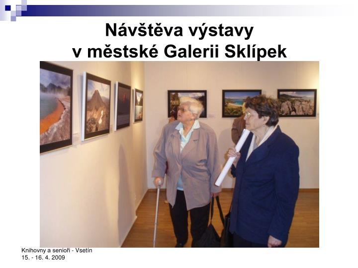 Návštěva výstavy