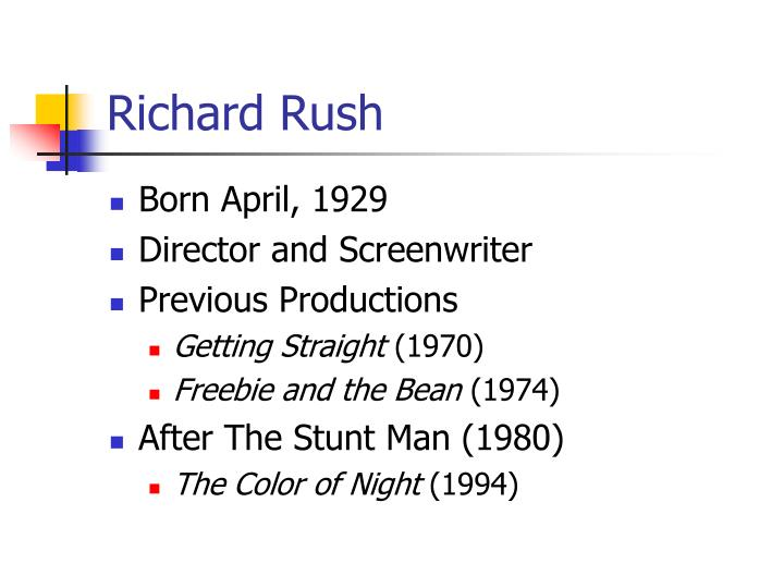 Richard rush