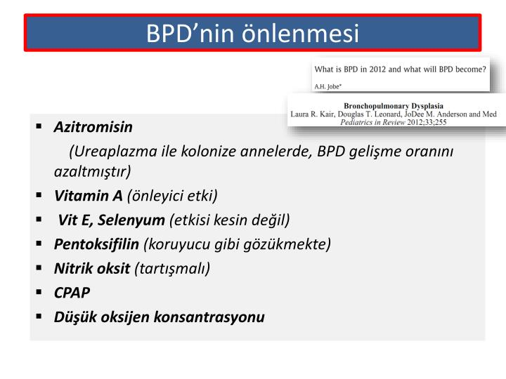 BPD'nin
