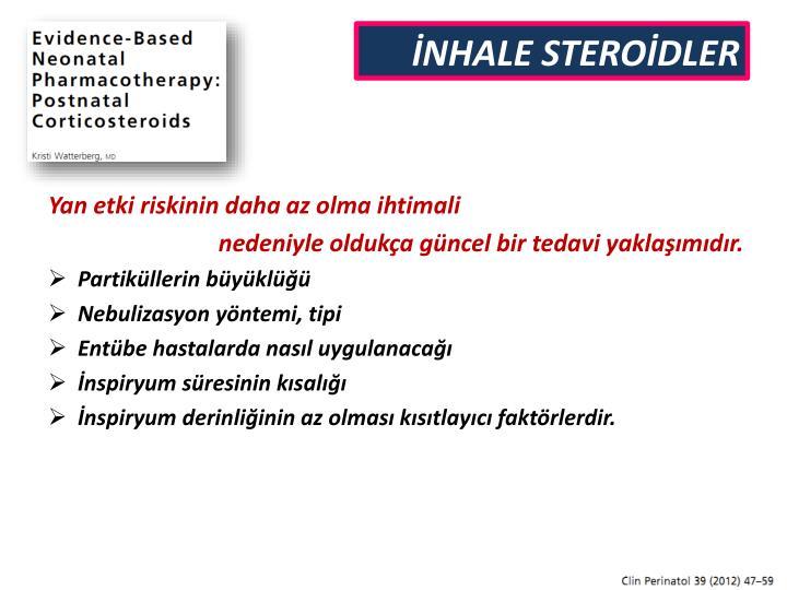 İNHALE STEROİDLER