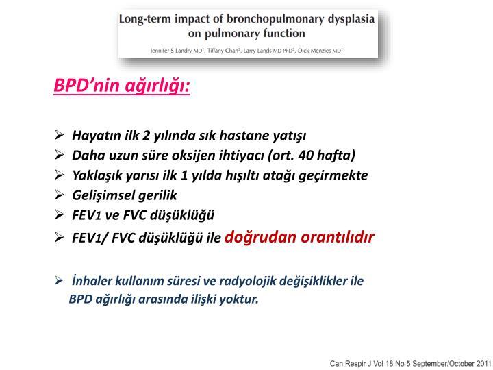 BPD'nin ağırlığı: