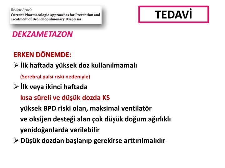 TEDAVİ
