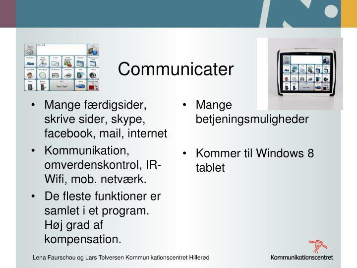 Communicater