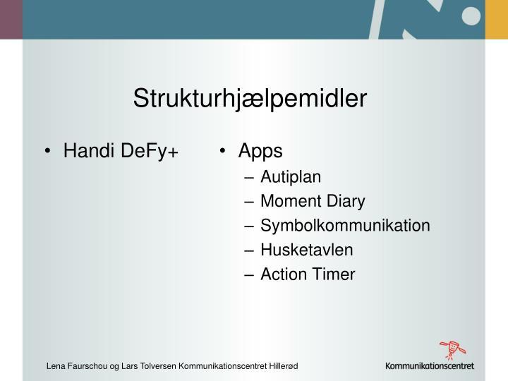 Strukturhjælpemidler