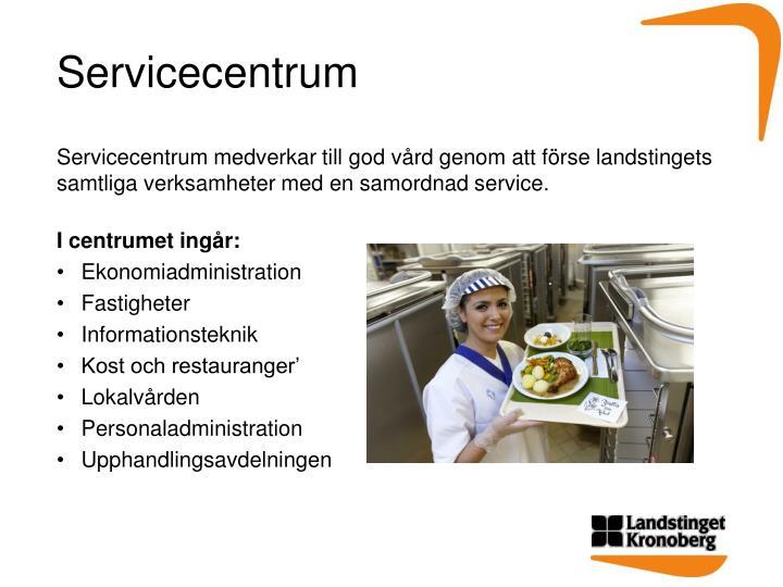 Servicecentrum